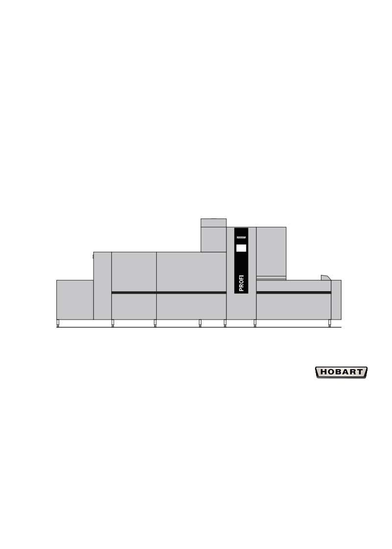 Hobart Tırnaklı Bulaşık Makinesi FTNI 2-S-A-DS5