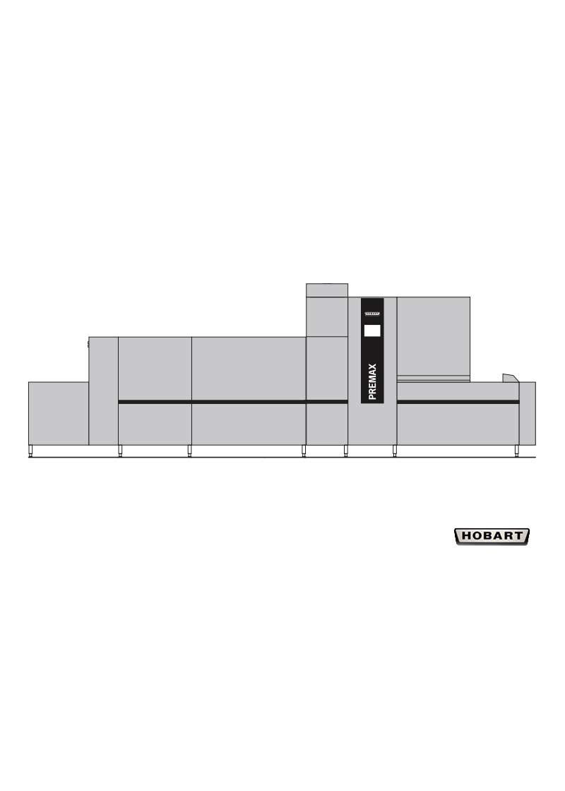 Hobart Tırnaklı Bulaşık Makinesi FTPI 2-S-DA-DS5