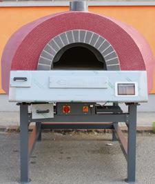 Mam Forni Döner Tabanlı Odunla Isıtmalı Pizza Fırını Easy Kontrol REL115