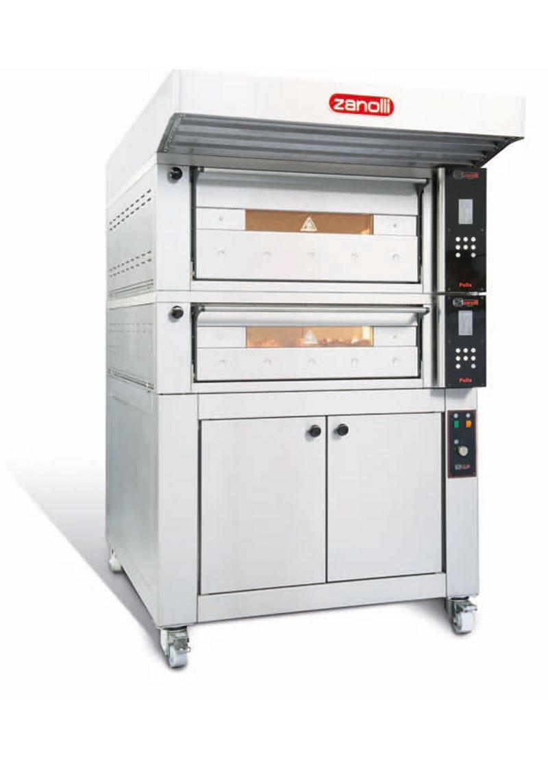 Zanolli Elektrikli Modüler Ekmek-Pastane-Pizza Fırını T POLIS PW2S/MC 18