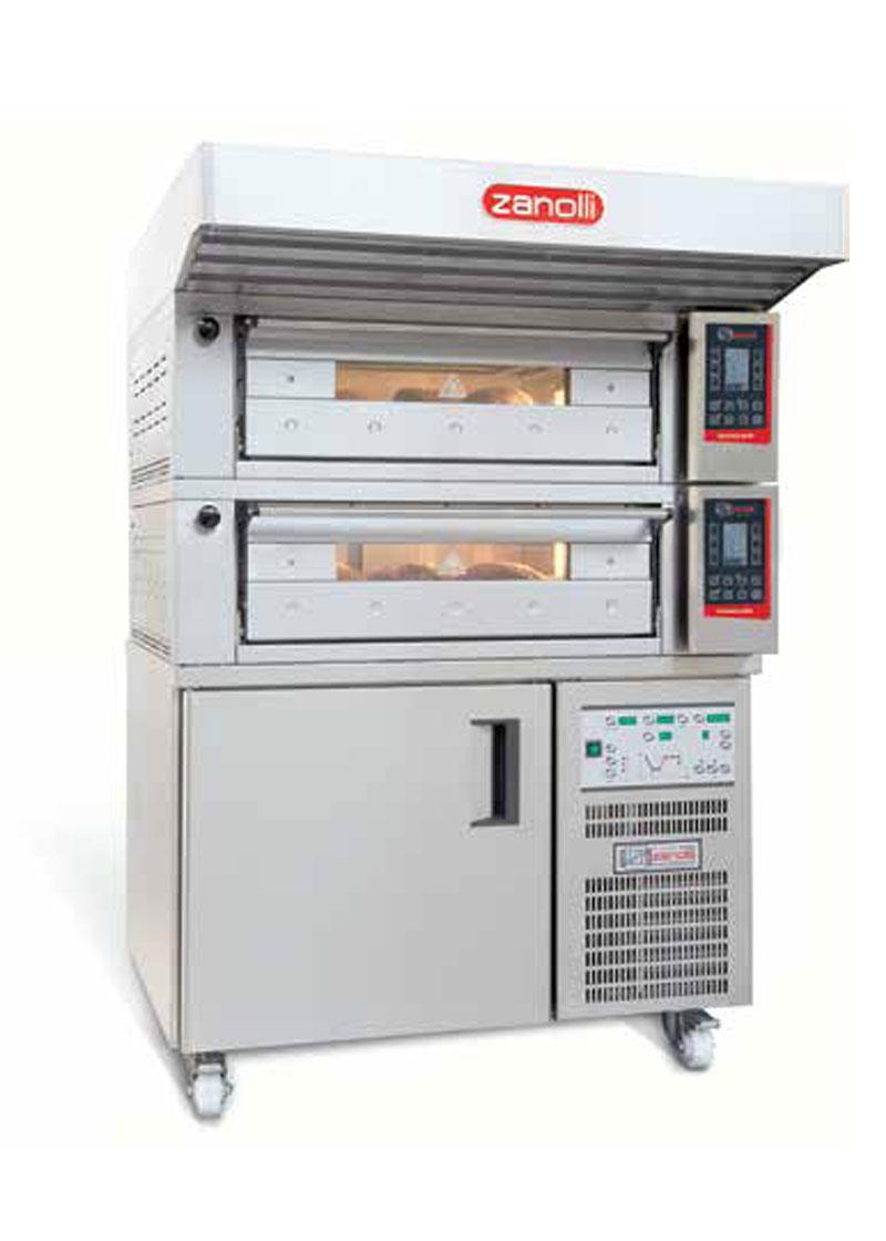 Zanolli Elektrikli Modüler Ekmek-Pastane-Pizza Fırını T POLIS PW2/MC 18