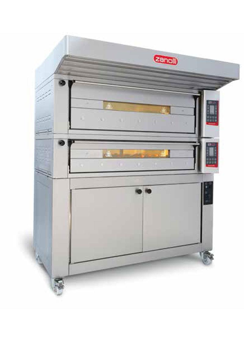 Zanolli Elektrikli Modüler Ekmek-Pastane-Pizza Fırını T POLIS PW3/MC 18