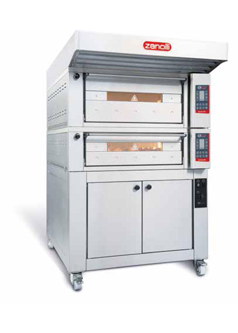 Zanolli Elektrikli Modüler Ekmek-Pastane-Pizza Fırını T POLIS PW4/MC 18