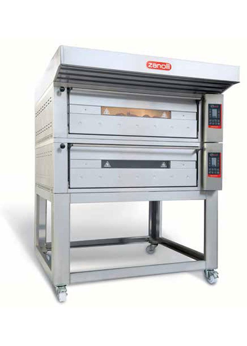 Zanolli Elektrikli Modüler Ekmek-Pastane-Pizza Fırını T POLIS PW6/MC 30