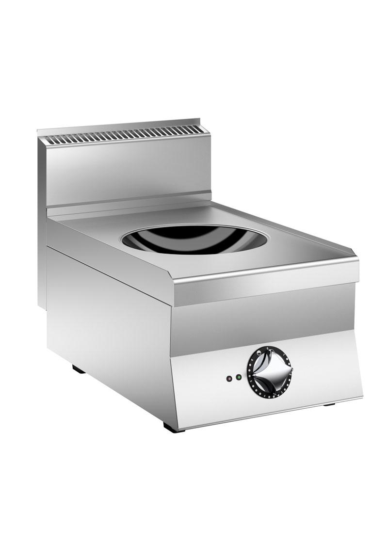 Mareno 700 Serisi 1 Pişirme Bölgeli Elektrikli İndüksiyon Wok Ocak 40x73x25 cm - NIW74TE