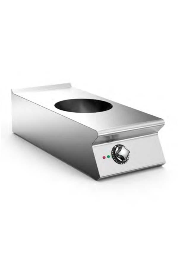 Mareno 900 Serisi 1 Pişirme Bölgeli Elektrikli İndüksiyon Wok Ocak NIW94TE