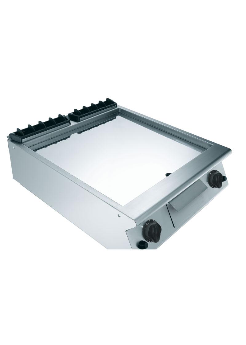 Mareno 900 Serisi Kromajlı Düz Pleytli Gazlı Izgara 80x90x25 cm - NFT98GTLC